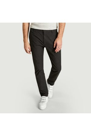 NN.07 Men Trousers - Theo Trousers Dark Grey No Nationality 07