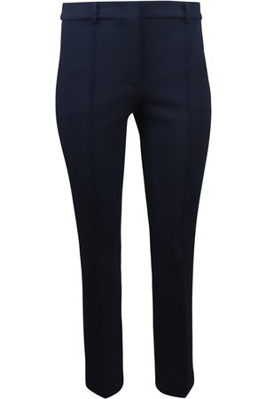 Sportmax Women Stretch Trousers - Navy Stretch Trouser