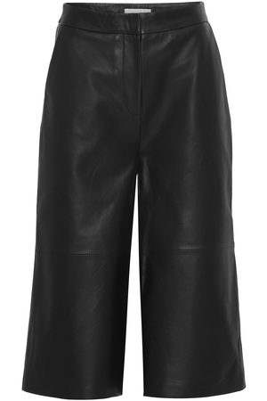 2nd Day Women Leather Trousers - 2ND MUDA PANT BLACK LEATHER 2NDDAY