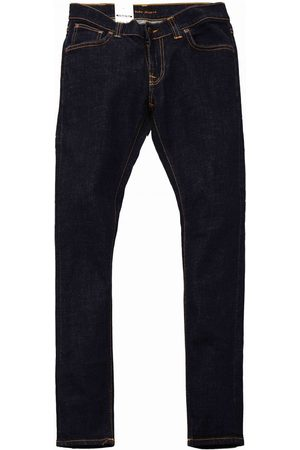 Nudie Jeans Jeans Co Tight Terry Denim - Rinse Twill Colour: Rinse Twill, Si