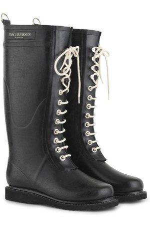 Ilse Jacobsen Long Rubber Boots Black