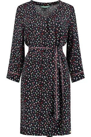 POM Amsterdam Women Printed Dresses - SP6341 Dress - Leopard Dark by Katja