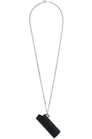 AMBUSH Men Necklaces - MEN'S 12112095BLACK METAL NECKLACE
