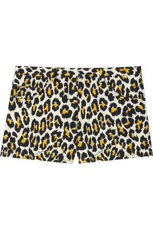 Marc Jacobs Leopard-print shorts