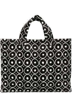 10 CORSO COMO Graphic print cotton tote