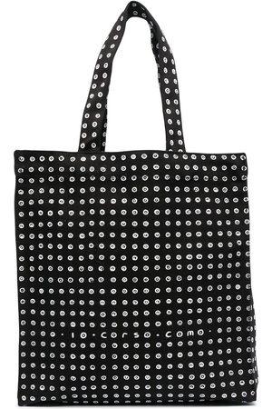 10 CORSO COMO Motif print cotton tote bag