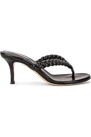Gianvito Rossi Tropea Leather Sandals in