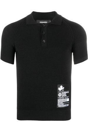 Dsquared2 Logo-patch polo shirt