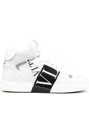 VALENTINO GARAVANI VLTN print band sneakers