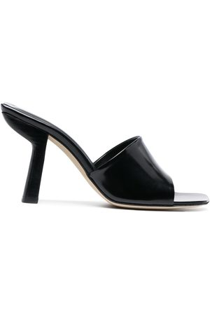 By Far Square toe mules