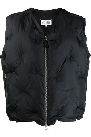 Maison Margiela Cropped quilted gilet