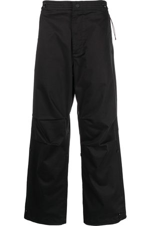 Maharishi Embroidered-detail trousers