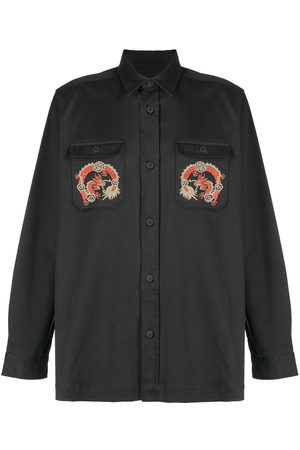 Maharishi Dragon-embroidered shirt