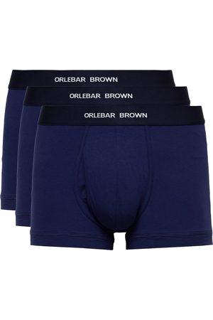 Orlebar Brown Men Briefs - Three-Pack Stretch-Cotton Boxer Briefs