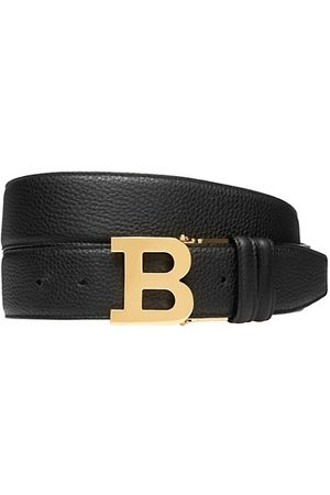 Bally B Buckle Reversible Leather Belt