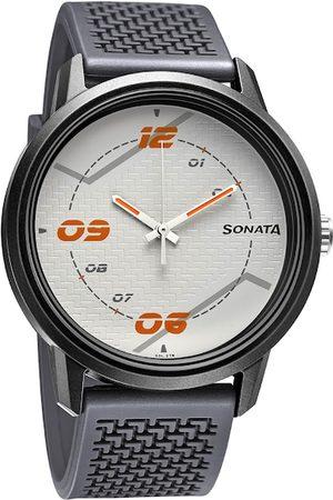 Sonata Men Grey Analogue Watch 77085PP09W