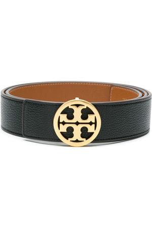 Tory Burch Women Belts - Reversible logo belt