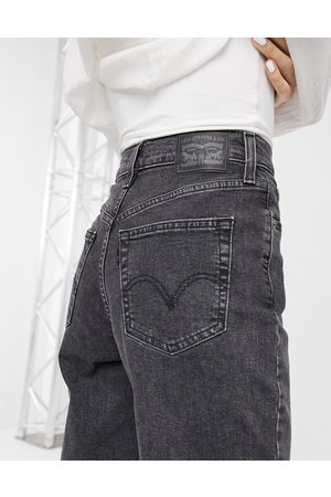 Levi's Women High Waisted - Levi's high waisted taper jean in washed