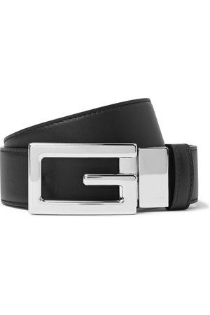 Gucci 3.5cm Reversible Leather Belt