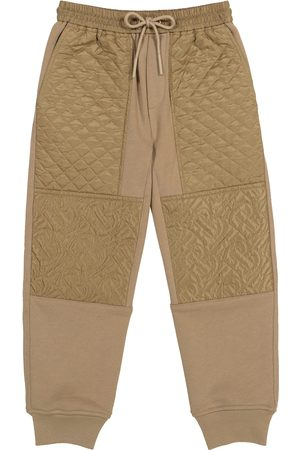 Burberry Monogram cotton trackpants