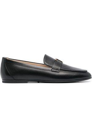 Tod's Women Loafers - T-logo leather loafers