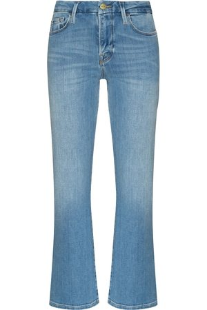 Frame Le Crop skinny bootcut jeans