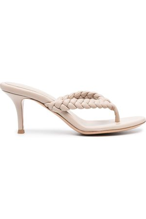 Gianvito Rossi Tropea 70mm heeled thong sandals