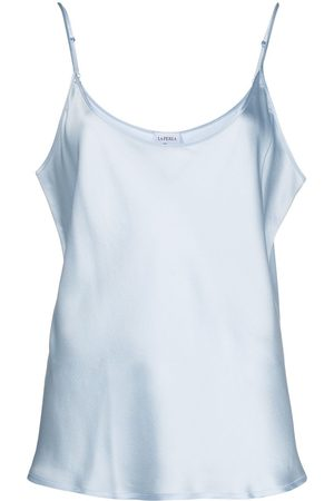 La Perla Women Vests - Scoop-neck satin cami top