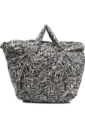 10 CORSO COMO Women Handbags - Large mosaic-print tote bag