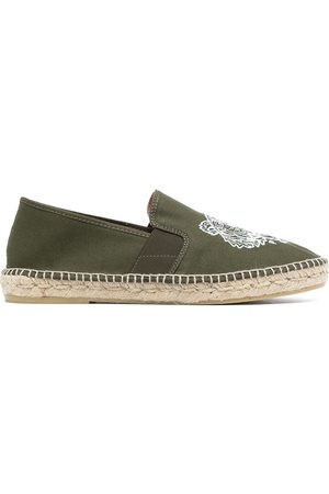 Kenzo Men Casual Shoes - Tiger embroidered espadrilles