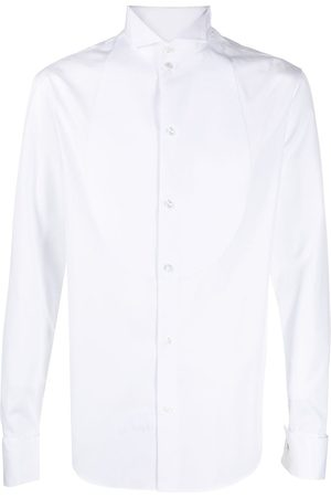 Emporio Armani Men Long Sleeve - Button-down fitted shirt