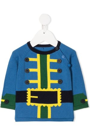 Stella McCartney Jumpers - Colour-block knitted jumper