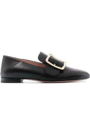 Bally Women Loafers - Janelle square buckle loafers