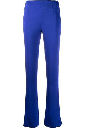 GALVAN Women Wide Leg Trousers - High-waisted flared trousers