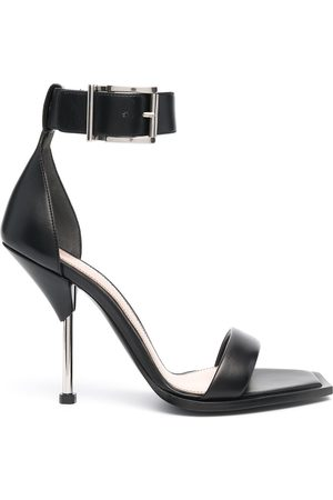 Alexander McQueen Square-toe leather sandals