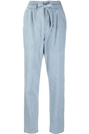 Isabel Marant Women Trousers - High-waisted tapered trousers