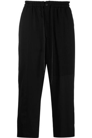 THE VIRIDI-ANNE Men Formal Trousers - Wool-blend wide cropped trousers