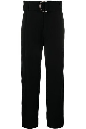 Vince Belted wide leg trousers