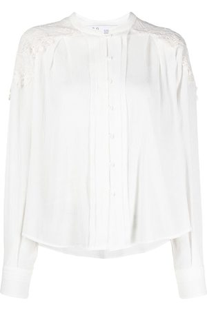 IRO Women Shirts - Lace panel blouse