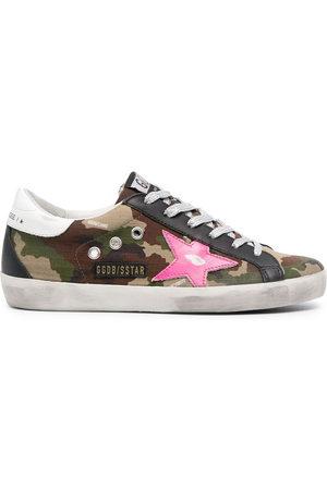 Golden Goose Women Sneakers - Super-Star camouflage sneakers