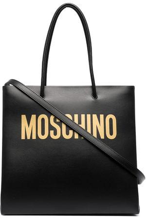 Moschino Women Handbags - Logo print tote