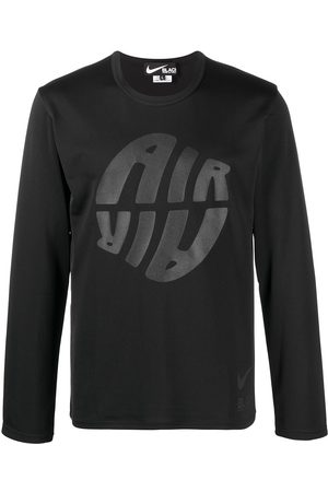 Comme des Garçons Long Sleeve - Logo print long-sleeved top