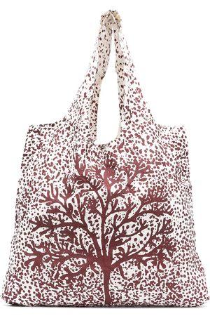 10 CORSO COMO Paint splatter-print tote bag