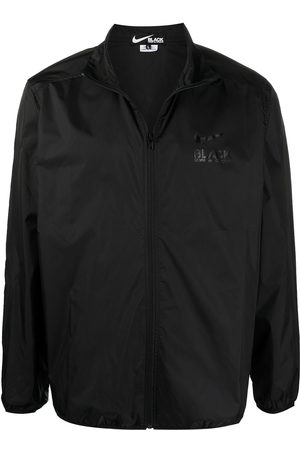 Comme des Garçons Logo-print long-sleeved jacket