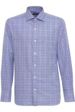 Tom Ford Price Of Wales Cotton Shirt