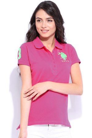 Ralph Lauren Women Short Sleeve - Pink Polo T-shirt