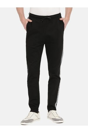 Breakbounce Men Black Solid Slim Fit Track Pants