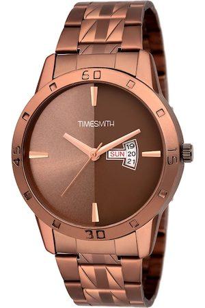 TIMESMITH Men Brown Analogue Watch TSC-068