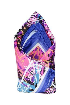 Tossido Men Multicoloured Printed Pocket Square