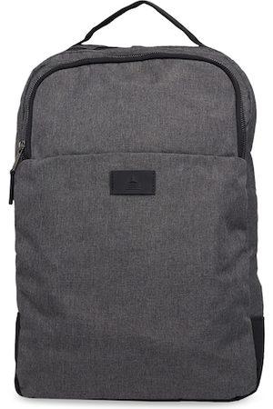 Aldo Men Charcoal Grey Solid Backpack